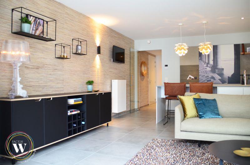 Oostende België / Totaalconcept appartement aan zee