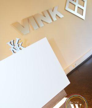 Projectinrichting entree / ONTWERP BALIE VINK